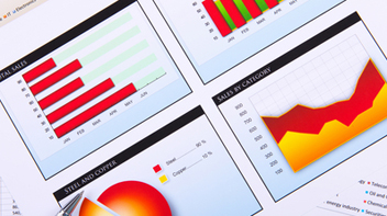 Visualisations of data