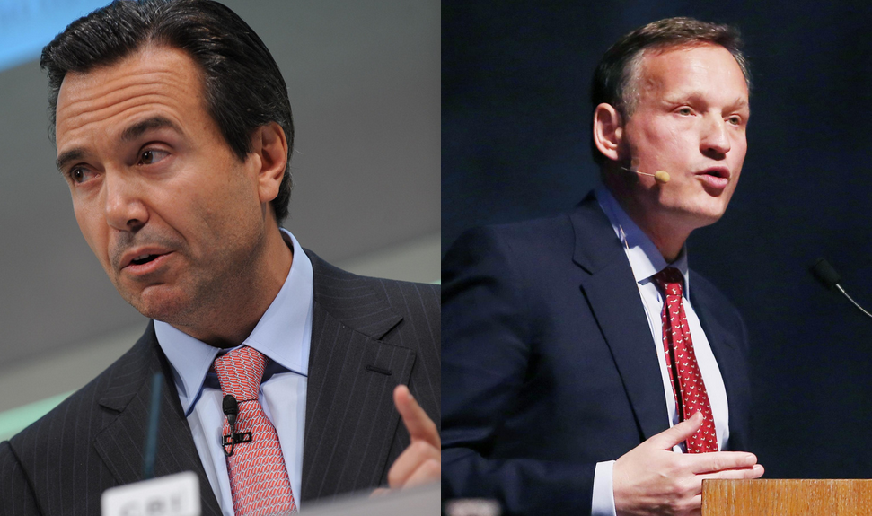 Lloyds CEO,  Antonio Horta-Osario (Left) and Barclay's CEO, Antony Jenkins (Right) have emphasised the importance of a 'Customer First' approach.