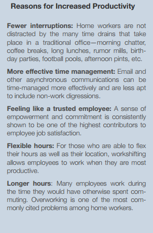 reasons for increased productivity